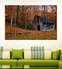 Multiple Frames Printed Hut in the Forest Art Panels like Painting - 5 Frames
