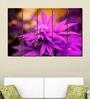 Multiple Frames Printed Purple Leaves Panels like Painting - 5 Frames by 999Store