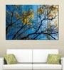 Multiple Frames Printed Yellow Leaves Tree Art Panels like Painting - 5 Frames by 999Store
