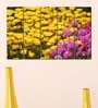 Multiple Frames Printed Yellow Red Flower Fields Panels like Painting - 5 Frames by 999Store