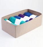 Linen Beige Towel Organiser