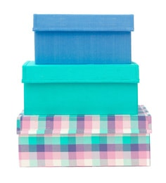 My Gift Booth Step Design Multicolour 20 L Storage Box - Set Of 3