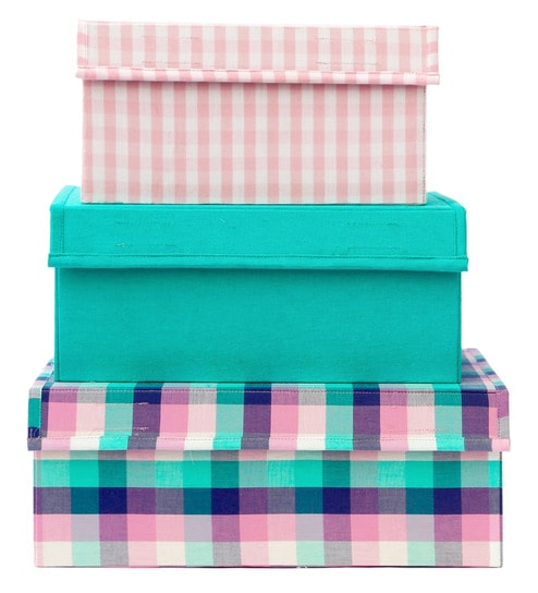 Buy My Gift Booth Step Design Multicolour 20 L Storage Box - Set of 3 Online  - Wardrobe Boxes - Wardrobe Organisers - Housekeeping   Organisers -  Pepperfry ... 2fbba70cf8c7d