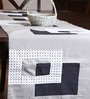 My Gift Booth Blocks Multicolour Linen Table Runner