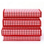 Cotton Red Storage Organiser - Set of 3 by My Gift Booth