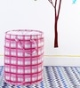 My Gift Booth Leatherette 20 L Pink Laundry Bag