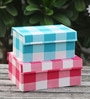 My Gift Booth Multicolour 20 L Chest Storage Box - Set of 2