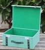 My Gift Booth Printed Green 15 L Chest Storage Box