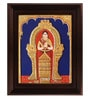 Multicolour Gold Plated Akkamal Framed Tanjore Painting by MyAngadi