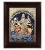 Multicolour Gold Plated Durgai Framed Tanjore Painting by MyAngadi