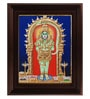 Multicolour Gold Plated 18 Inch Hanuman Framed Tanjore Painting by MyAngadi