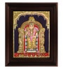 Multicolour Gold Plated Murugan Cloth & Plywood Framed Tanjore Painting by MyAngadi