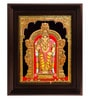 Multicolour Gold Plated 2.9 X 14 X 18 Inch Murugan Framed Tanjore Painting by MyAngadi