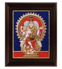 Multicolour Gold Plated Nataraja Framed Tanjore Painting by MyAngadi