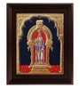 Multicolour Gold Plated Alangaram Framed Tanjore Painting by MyAngadi