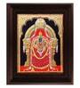 Multicolour Gold Plated Thayaar Padmavathi Framed Painting by MyAngadi
