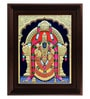 Multicolour Gold Plated Thayaar Padmavathi Framed Tanjore Painting by MyAngadi
