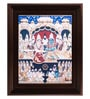Multicolour Gold Plated 18 Inch Vishnu Lakshmi Framed Tanjore Painting by MyAngadi