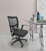 Naveda Ergonomic Chair in Black Colour
