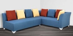 Naples RHS Sofa Corner Set in Blue Colour