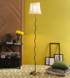 Natural Bamboo Floor Lamp By New Era - 1672756