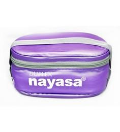 Nayasa Duplex Deluxe Purple Plastic & Stainless Steel Lunch Box- Set Of 5