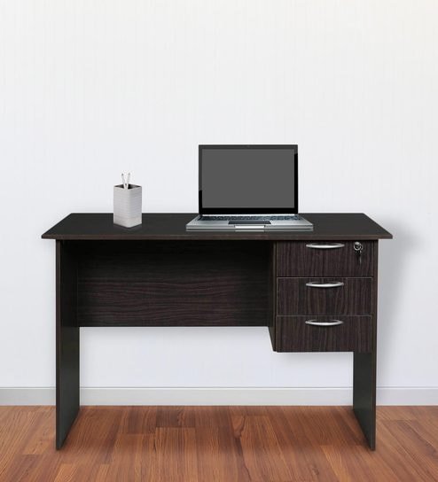 Narihina Study Table in Cappuccino Finish by Mintwud By Pepperfry @ Rs.3,199