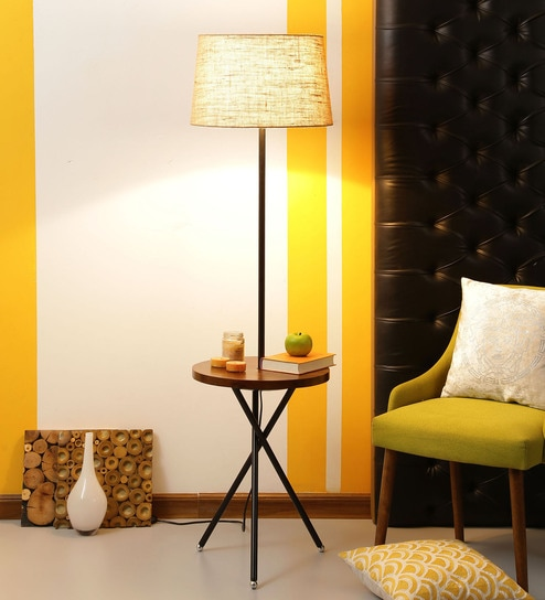 Natural Jute Floor Lamp