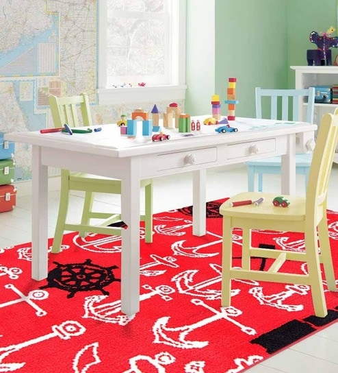 Nautical Rug Red By Riva