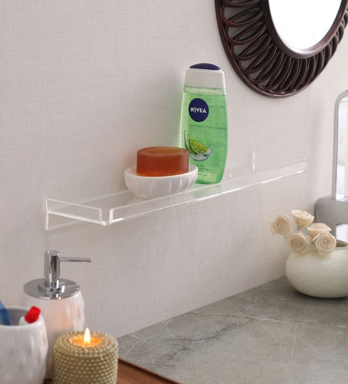 Navrang Transpa Acrylic Medium Shelf