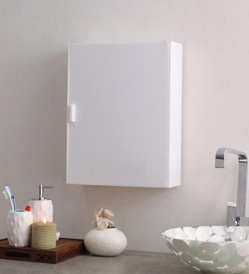Buy Acrylic White 4 Compartment Bathroom Cabinet L 14 W 4 H
