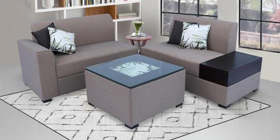 Nanaimo Lhs Sofa With Coffee Table