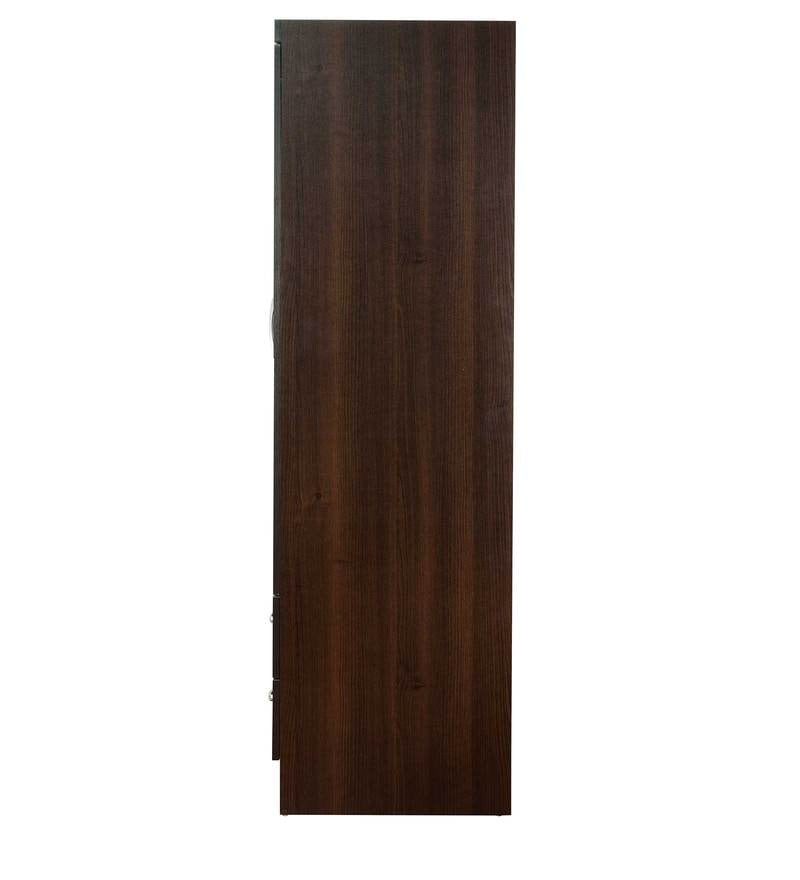 Buy Nariko Two Door Wardrobe With Two Drawers In Wenge
