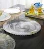 Nachtmann Samba Glass Charger Plate