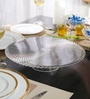 Nachtmann Swirl Pattern Glass 120 ML Chip and Dip Platter