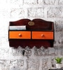 Multicolour Mango Wood Wall Shelf by NB Home Interior Industry