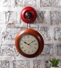 Multicolour MDF 11 x 7 x 20.5 Inch Wall Hanging Clock by NB Home Interior Industry