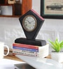 NB Home Interior  Multicolour MDF 7.5 x 2.5 x 8 Inch Desk Clock