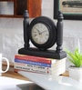Multicolour MDF 8.8 x 2 x 5.8 Inch Desk Clock by NB Home Interior Industry