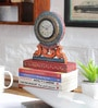 Multicolour MDF 8 x 1 x 9 Inch Desk Clock by NB Home Interior Industry
