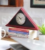 NB Home Interior  Multicolour MDF 9 x 2 x 6 Inch Desk Clock