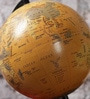 Multicolour MDF Globe with Stand by NB Home Interior Industry
