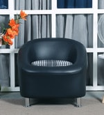 Nelson One Seater Sofa in Black Colour