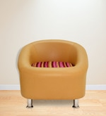 Nelson One Seater Sofa in Camel Colour