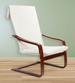 Nero Relaxing Arm Chair in Beige Colour