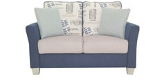 New Windsor Two Seater Sofa in Blue Colour