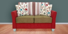 New Windsor Two Seater Sofa in Red Colour