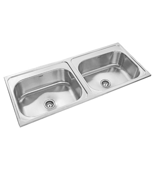 Buy neelkanth impel matt stainless steel double bowl kitchen sink neelkanth impel matt stainless steel double bowl kitchen sink workwithnaturefo