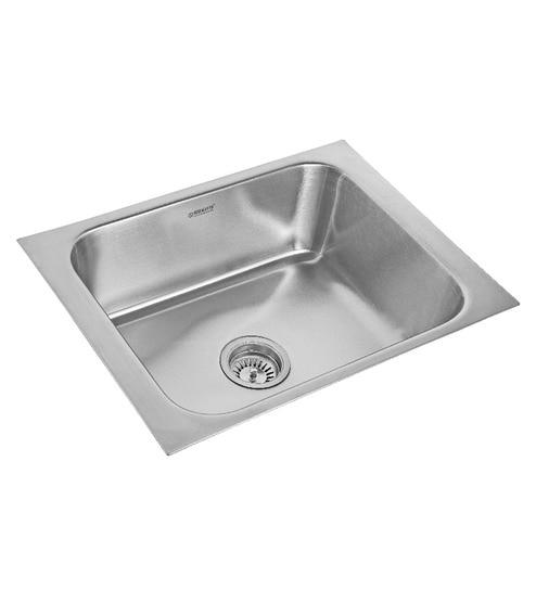 Buy Neelkanth India King Matt Stainless Steel Single Bowl kitchen ...