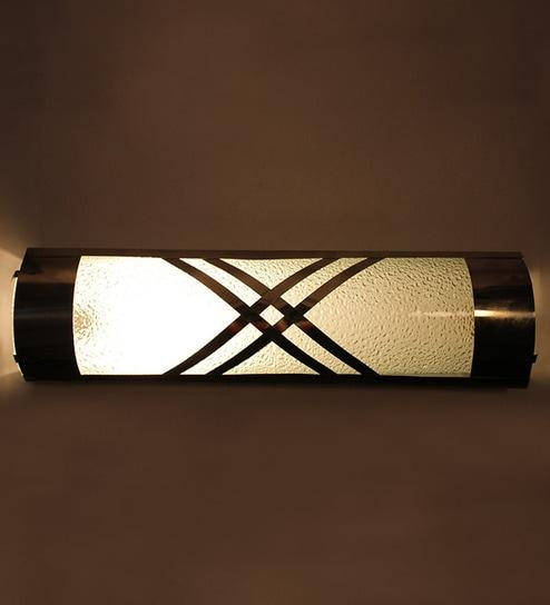 Buy Off White Glass Bath Light by New Era Online - Bath Lights ...